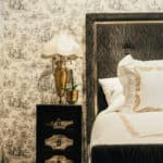 luxury hotel decorative corner