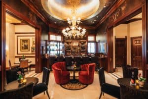 Mansion on Sutter hotel lobby