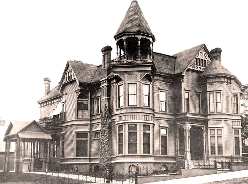 Payne House march 1887