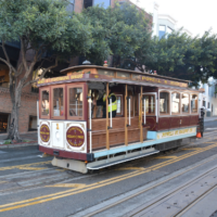 Ride a cable car
